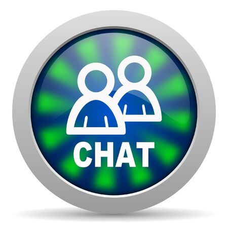 chat icon Stock Photo - 15416987