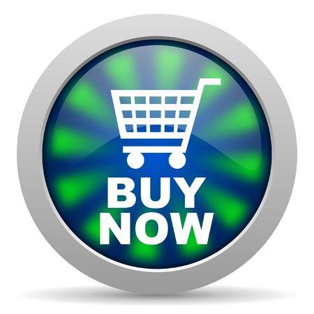 buy now icon Stock Photo - 15416993