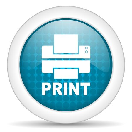 print icon Stock Photo - 15463234