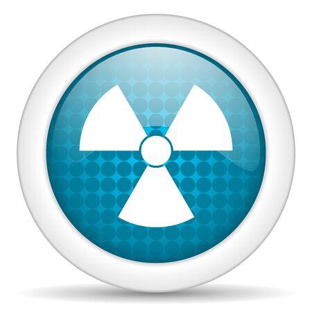 radiation icon Stock Photo - 15463224