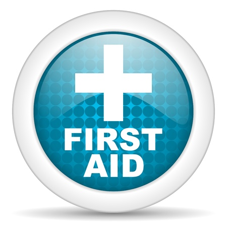 first aid icon Stock Photo - 15471739