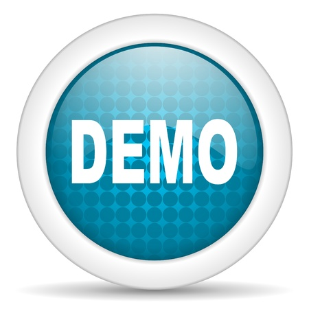 demo icon photo