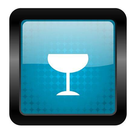 glass icon Stock Photo - 15460589