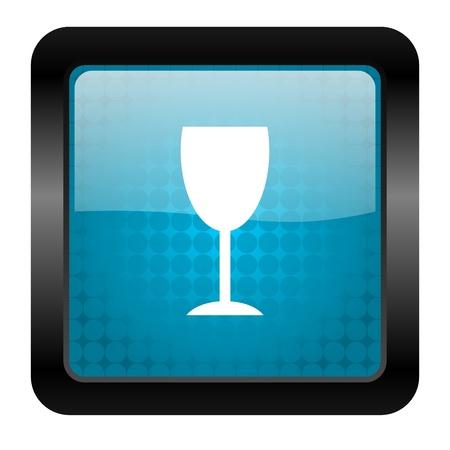 glass icon Stock Photo - 15460577
