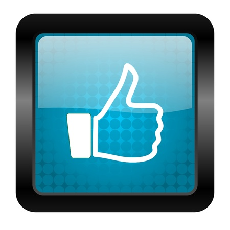 thumb up icon Stock Photo - 15462148