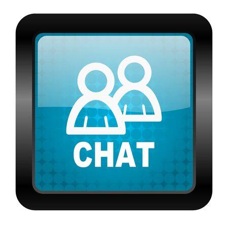 chat icon Stock Photo - 15462627