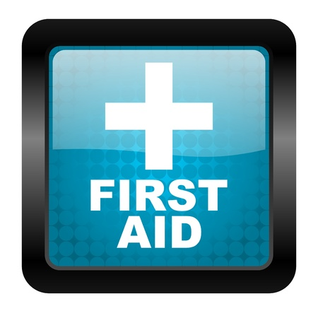 first aid icon Stock Photo - 15462038