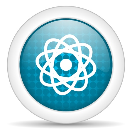 atom icon Stock Photo - 15472209