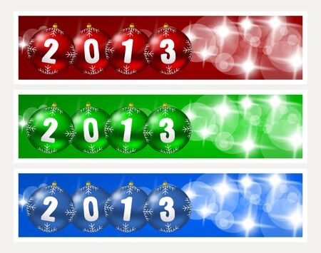 new years banners Stock Photo - 15791126