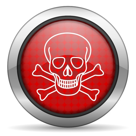skull icon Stock Photo - 15817497