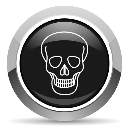 skull icon Stock Photo - 15816971