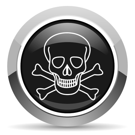 skull icon Stock Photo - 15817388