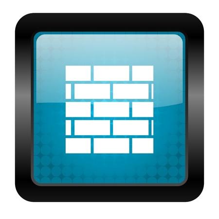 firewall icon Stock Photo - 15816136