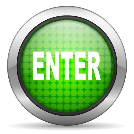 enter icon photo