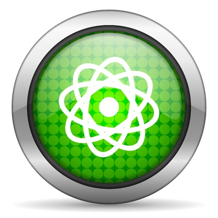 atom icon Stock Photo - 15926694