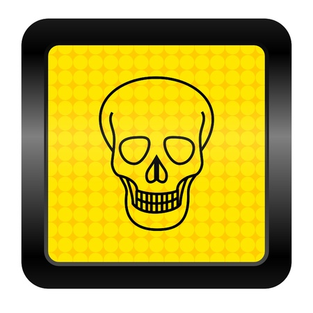 skull icon Stock Photo - 15926271