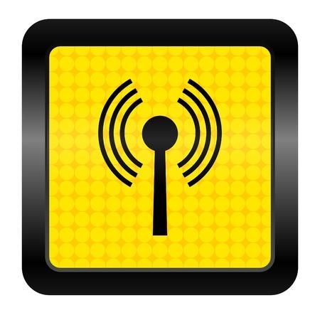 wifi icon Stock Photo - 15926254