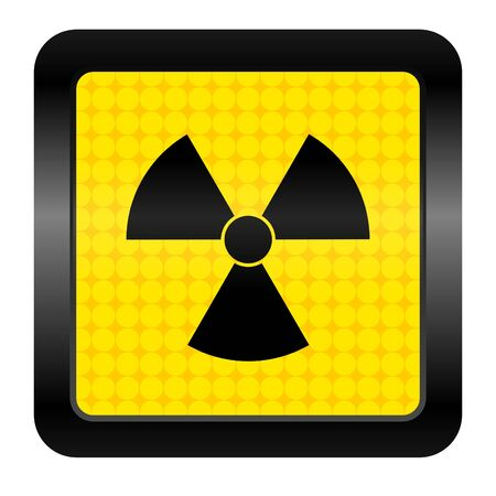 radiation icon Stock Photo - 15925703