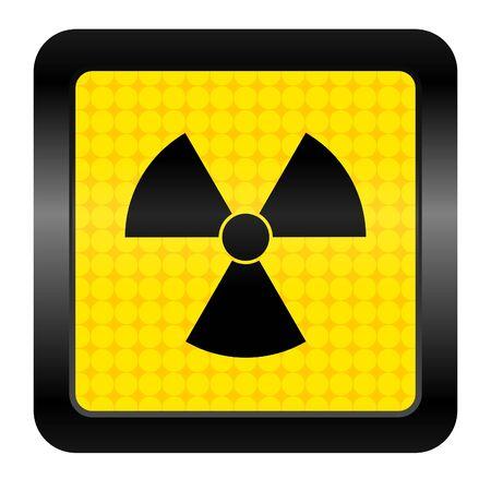 radiation icon Stock Photo - 15925703