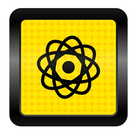 atom icon Stock Photo - 15926259