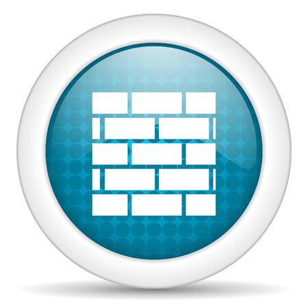 firewall icon Stock Photo - 15926268