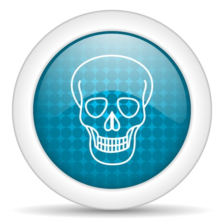 skull icon Stock Photo - 15926610