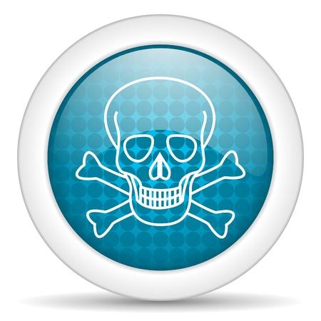 skull icon Stock Photo - 15926696