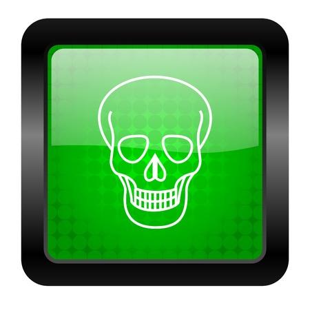 skull icon Stock Photo - 15951410
