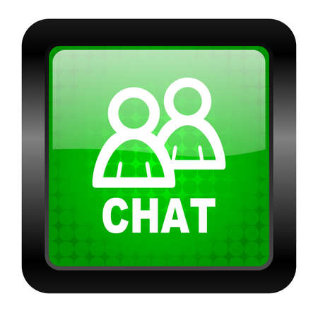 chat icon Stock Photo - 15951315