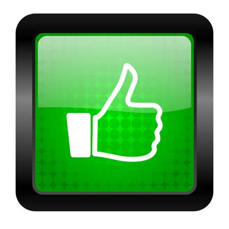 thumb up icon Stock Photo - 15950434