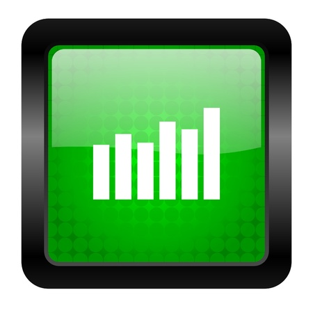 bar graph icon Stock Photo - 15949870