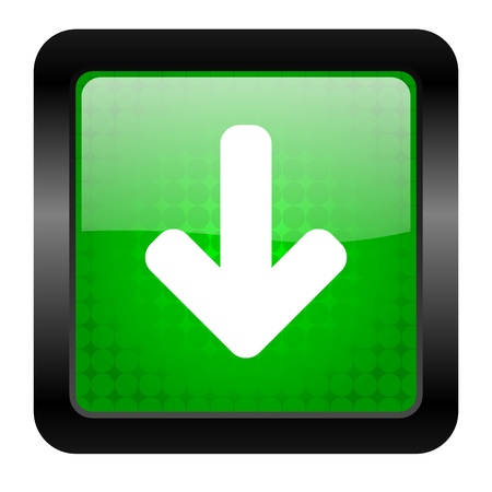 arrow down icon photo