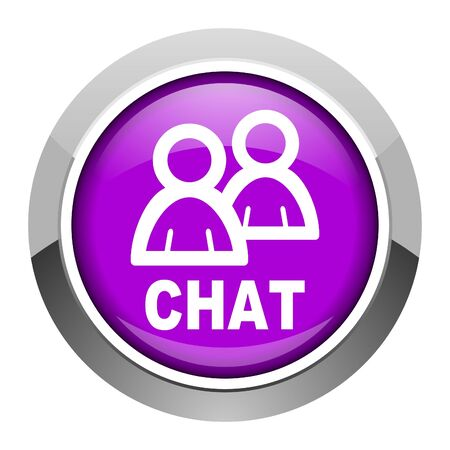 chat icon Stock Photo - 15951349