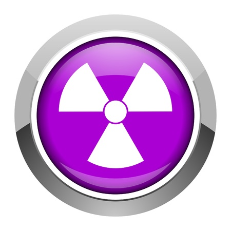 radiation icon Stock Photo - 15949888
