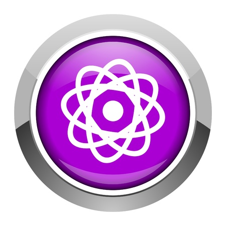 atom icon Stock Photo - 15951404
