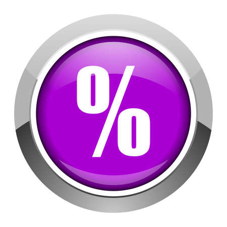 percent icon photo