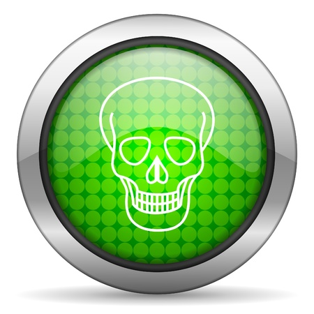skull icon Stock Photo - 16148378