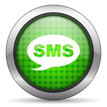 sms icon Stock Photo - 16148233
