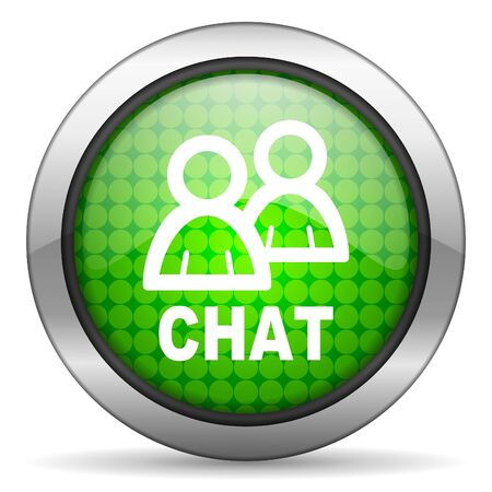 chat icon Stock Photo - 16148306