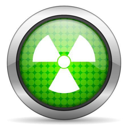 radiation icon Stock Photo - 16148193