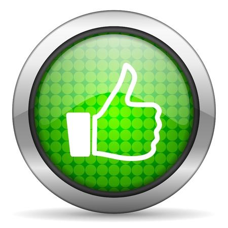 thumb up icon Stock Photo - 16148309