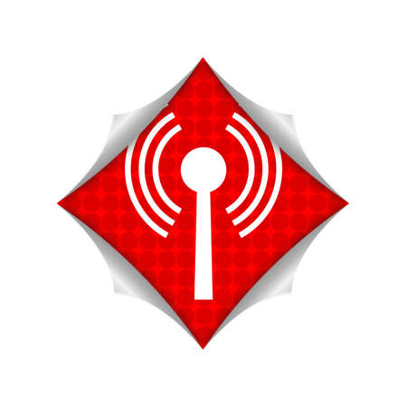 wireless hot spot: wifi icon Stock Photo