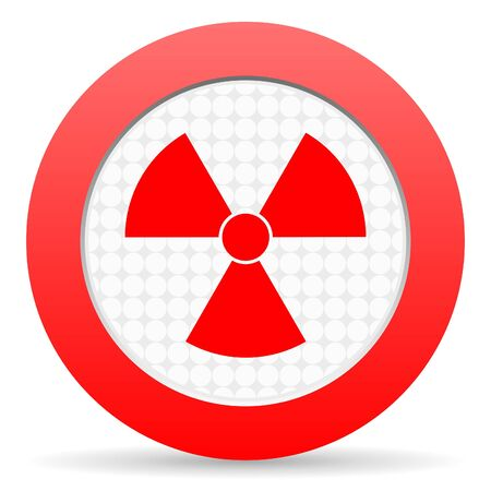 radiation icon Stock Photo - 16225288