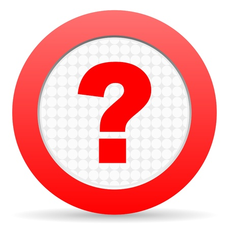 question mark icon Stock Photo - 16225238