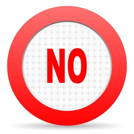 no icon Stock Photo - 16225290