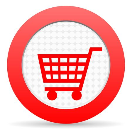 shopping cart icon Stock Photo - 16225418
