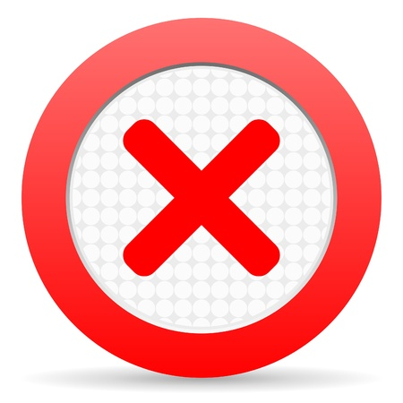 cancel icon Stock Photo - 16225289