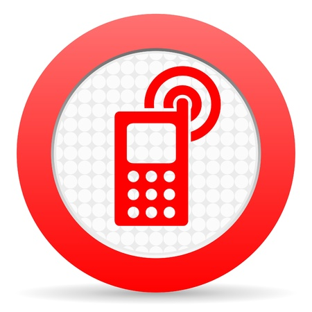 cellphone icon Stock Photo - 16225511