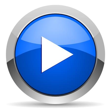 oir: jugar icono Foto de archivo