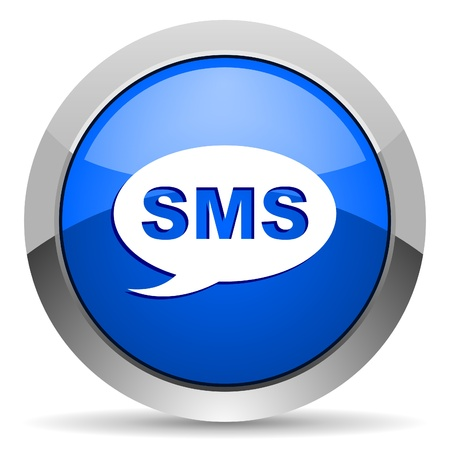 sms icon Stock Photo - 16225678